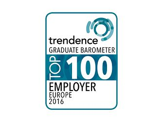 Logo - Europes 500 top employers award